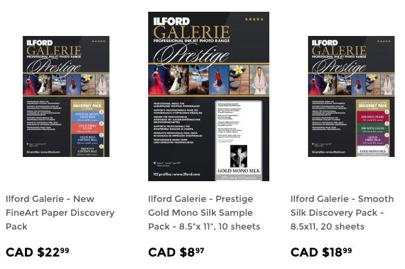 ilford Galerie sample