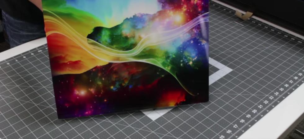 Allure direct-print metal